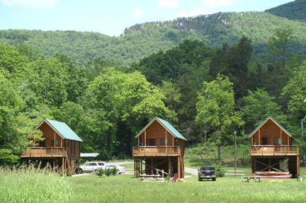 rental cabins on the shenandoah river luray va river cabins