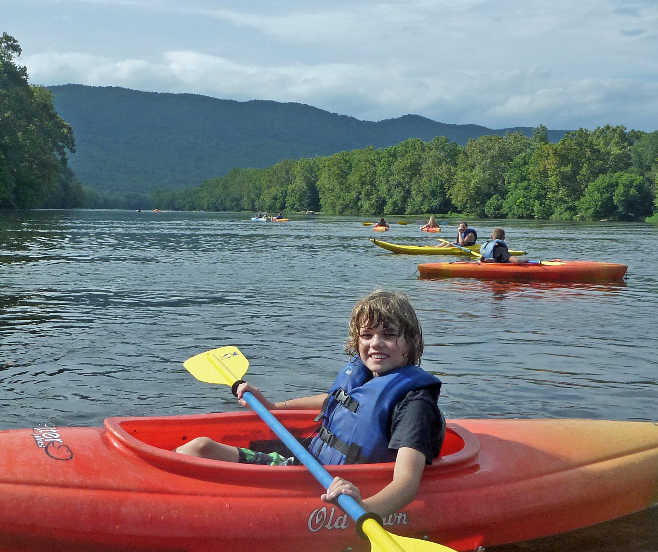 Kayaking Canoe Kayak Tubing Camp The Shenandoah River