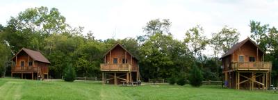 Angler, Drifter & Paddler cabins