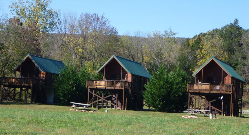 vRiver Log Cabins near Luray VA