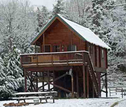 Attractions things to do luray virginia for Log cabins in shenandoah valley