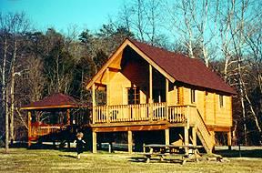 Angler cabin