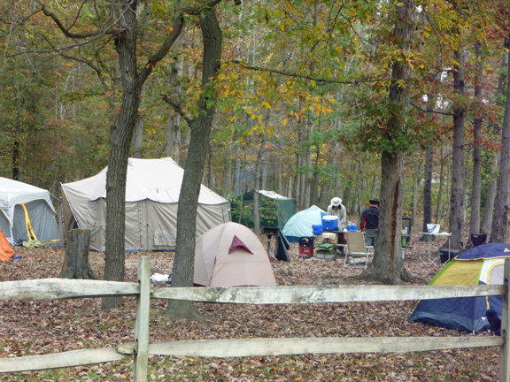 Camp Outback Tent Campground Luray Va