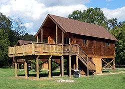 Drifter log cabin