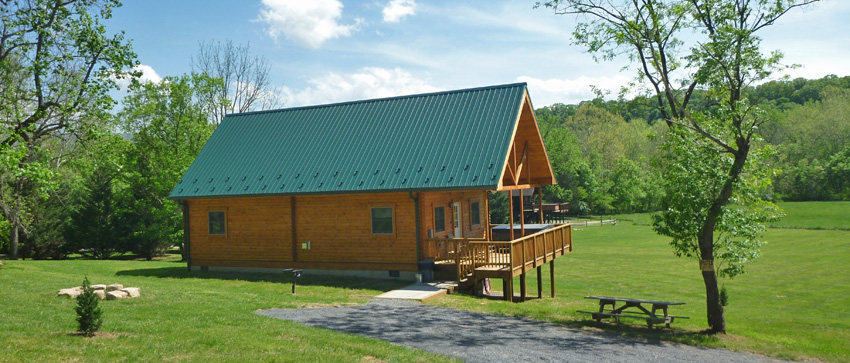 The River Lure rental cabin