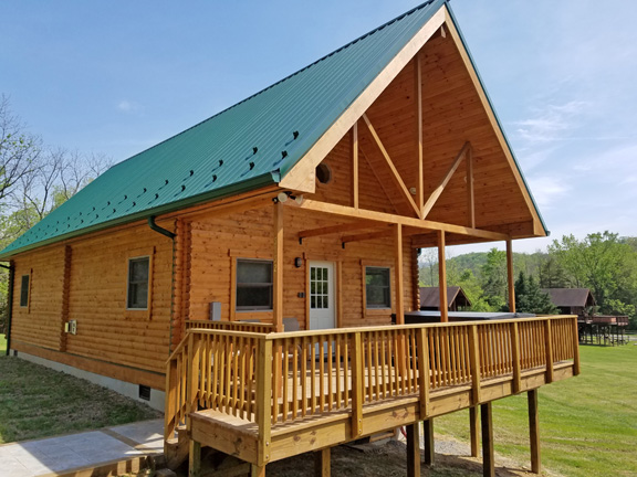 NEW River Lure cabin